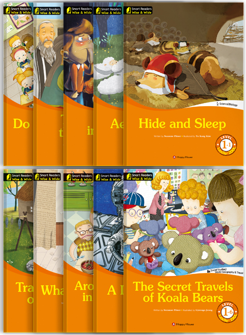 Smart Readers Wise & Wide Level 1