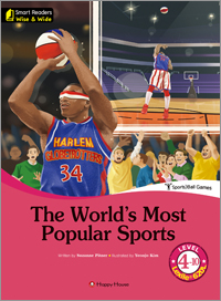 Smart Readers: Wise & Wide 4-10. The World's Most Popular Sports